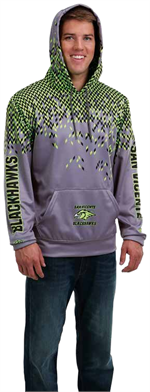 Flake Sublimated Hoodie Teamwork Proshere