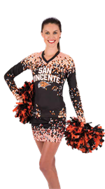 Flake Teamwork ProSphere Long Sleeve Cheer Top