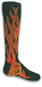 Black Flame Socks Red Lion 7832