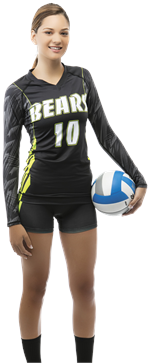 Flare Custom Teamwork ProSphere Volleyball Jersey