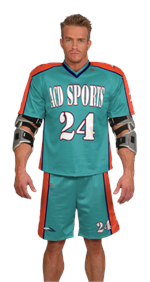 Horizontal Sublimated Lacrosse Jersey Teamwork ProSphere