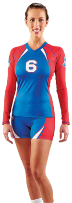Jump Serve Custom Teamwork ProSphere Volleyball Jersey