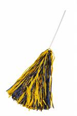 Navy & Gold Rooter Poms