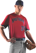 Prospect Sublimated Baseball Jersey Alleson Athletic