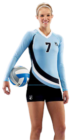 Quick Set Custom Teamwork ProSphere Volleyball Jersey