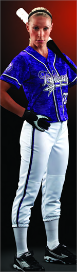 Rapid Fire Sublimated Softball Jersey - Digital Camo