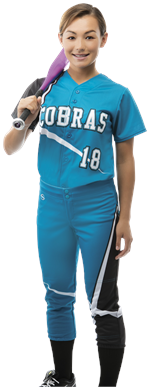Stellar Women's Sublimated Softball Jersey Teamwork ProSphere