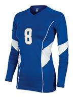 Momentum Womens Long Sleeve Volleyball Jersey Teamwork 1947