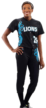 Tribal Women's Sublimated Softball Jersey Teamwork ProSphere