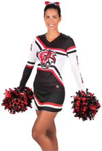 Varsity Sublimated Cheer Uniform Top & Skirt