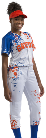 Wild Card Sublimated Softball Jersey Teamwork ProSphere