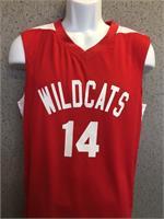 High School Musical Reversible Basketball Jersey 2 jerseys in one