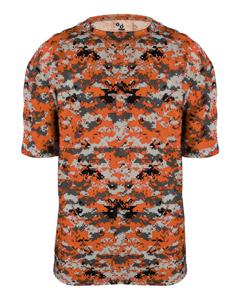 B Core Adult Digital Camo Tee Badger 4180
