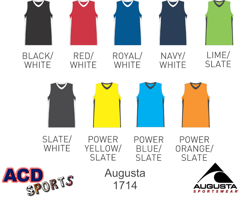 Augusta Block Out Ladies Jersey 1714