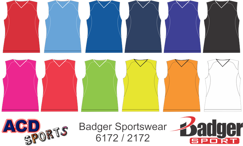 Badger 6172 Adrenaline Ladies Jersey