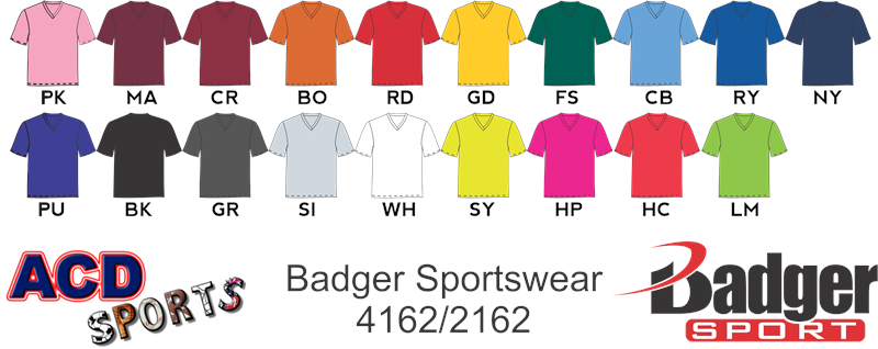 Badger 4162 Ladies V-Neck Tee