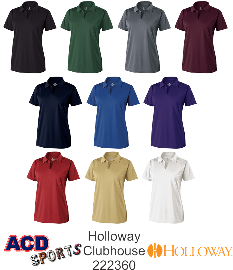 Holloway 222360 Ladies Clubhouse Polo