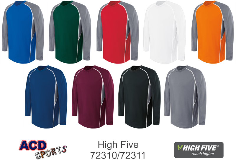 High Five 72310 Long Sleeve Jersey