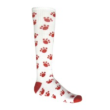 Red Lion Youth Paws All Sport Socks-White /& Neon Pink-Small