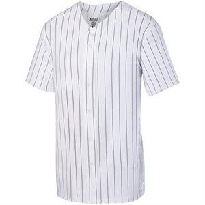 Pinstripe Full Button jersey Adult Augusta 1685