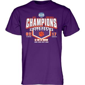 ACC 2019 Champions Clemson Tigers