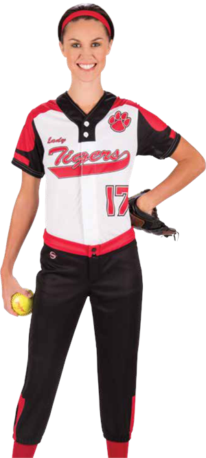 Ace Women's Sublimated Softball Jersey Teamwork ProSphere