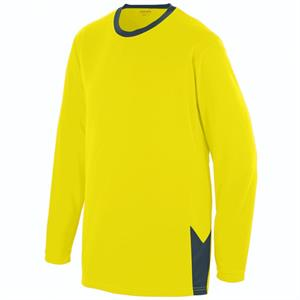 Block Out Adult Long Sleeve Jersey Augusta 1717