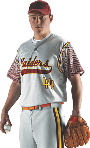 Brushback Sublimated Baseball Jersey Alleson Athletic