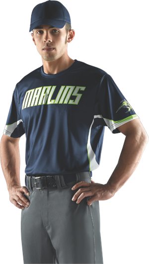 Burn Sublimated Baseball Jersey Alleson Athletic