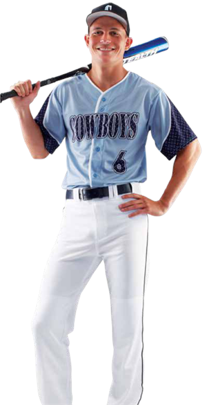 Frozen Rope Men's Sublimated Baseball Jersey Teamwork ProSphere