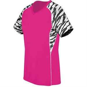 Evolution Printed Short Sleeve Womens Jersey High Five 72332