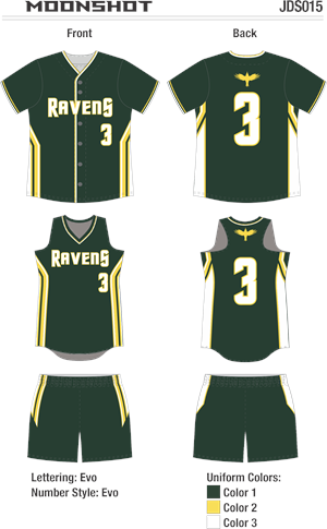 Moonshot Sublimated Fastpitch Uniform
