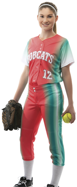 Spectrum Women's Sublimated Softball Jersey Teamwork ProSphere