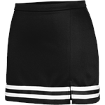 Braided 1168 Black Cheer Skirt