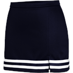 Braided 1168 Navy Cheer Skirt