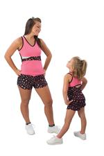 Pizzazz Superstar Top & Shorts