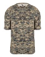 B-Core Adult Digital Camo Tee Badger 4180