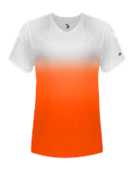 Ombre Women's V-Neck Tee Badger 420700