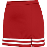 Braided 1168 Red Cheer Skirt