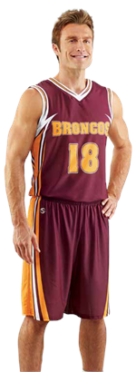 Baseline Sublimated Basketball Uniform Teamwork ProSphere