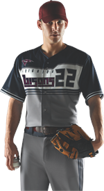 Bunt Sublimated Baseball Jersey Alleson Athletic