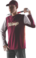Diamond Sublimated Mens Batters Jacket Alleson Athletic