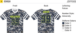 Digi Flag Football Jersey Alleson Athletic