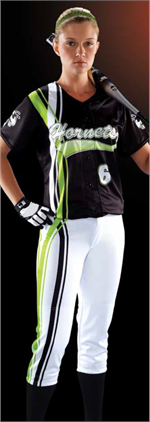 Dual Carbs Women's Sublimated Softball Jersey Teamwork ProSphere