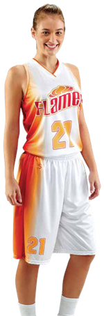 Fast Break Sublimated Basketball Uniform Teamwork ProSphere