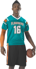 Slant Flag Football Jersey Alleson Athletic