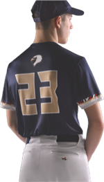 Line Drive Sublimated Baseball Jersey Alleson Athletic
