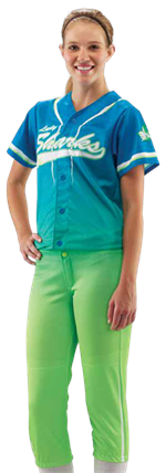 Long Ball Sublimated Softball Jersey Teamwork ProSphere