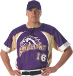 Magnum Sublimated Baseball Jersey Alleson Athletic