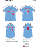 Power Sublimated Fastpitch Uniform
